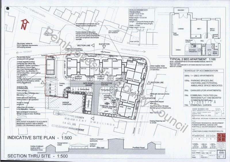 Property for sale in Portfield Road, Haverfordwest