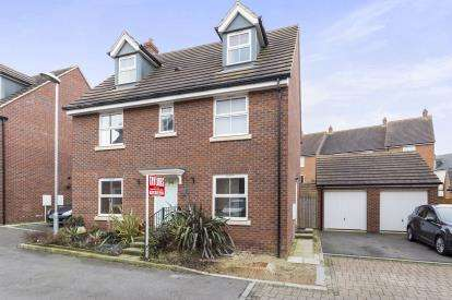5 Bedrooms Detached House for sale in Mona Avenue Kingsway, Quedgeley, Gloucester, Gloucestershire