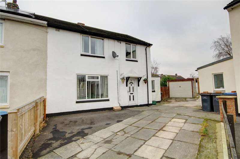 3 Bedrooms Semi Detached House for sale in Stanley Close, Sherburn Village, Durham, DH6