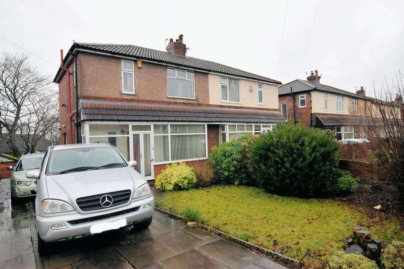 3 Bedrooms Semi Detached House for sale in Breightmet Drive, Breightmet, Bolton, 3 bed semi, garage, no chain
