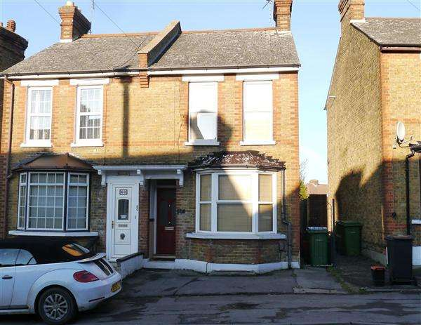2 Bedrooms Semi Detached House for sale in Sheals Crescent, Maidstone