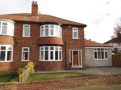 3 Bedrooms Semi Detached House for sale in Manor Road, Darlington, Durham