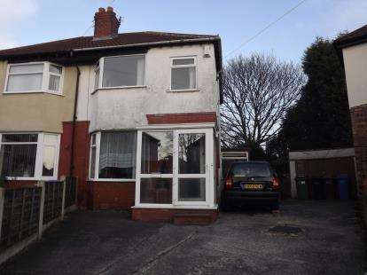 2 Bedrooms Semi Detached House for sale in Sandileigh Avenue, Brinnington, Stockport, Greater Manchester