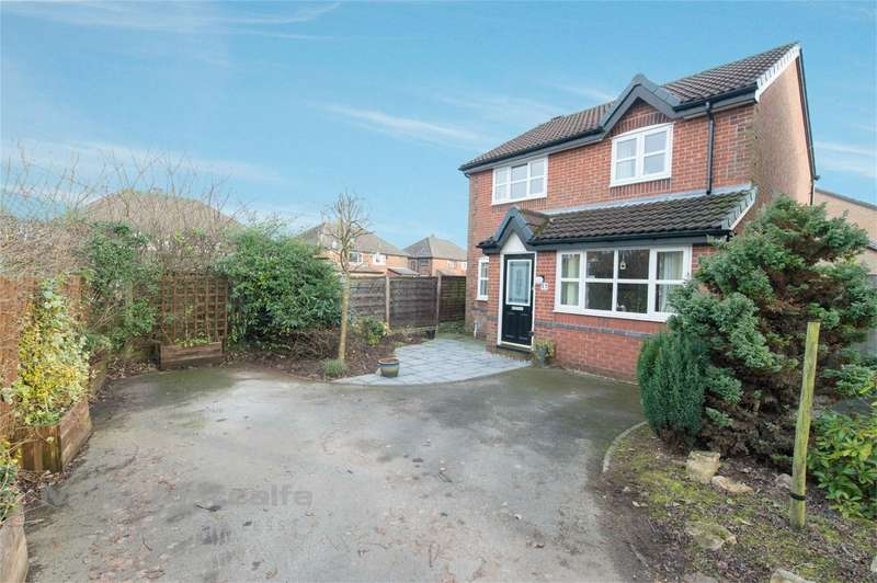 3 Bedrooms Detached House for sale in Billberry Close, Whitefield, Manchester, Lancashire