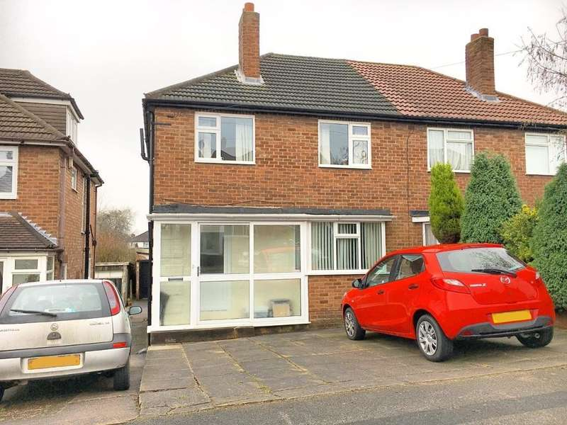 3 Bedrooms Semi Detached House for sale in PINEWOOD CLOSE, YEW TREE ESTATE, WALSALL, WEST MIDLANDS, WS5 4JR