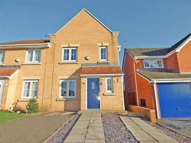 3 Bedrooms Semi Detached House for sale in Winford Grove, Wingate, Durham
