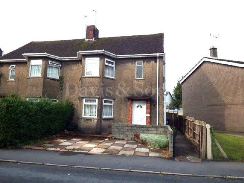 3 Bedrooms Semi Detached House for sale in Vine Cottage , Caerleon, Newport. NP18 1AU