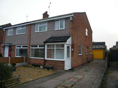 3 Bedrooms Semi Detached House for sale in Grosvenor Avenue, Hartford, Northwich, Cheshire