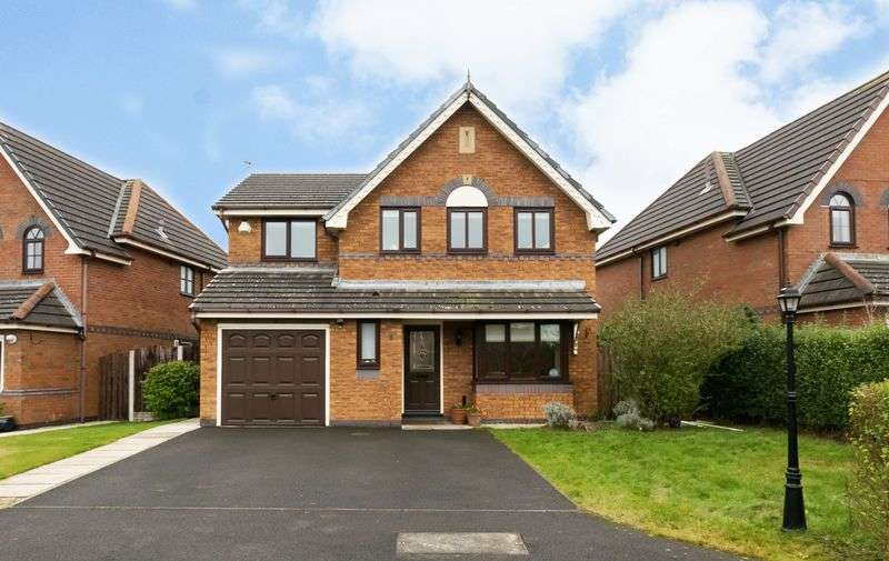 4 Bedrooms Detached House for sale in Rectory Gardens, Tarleton, PR4 6NG