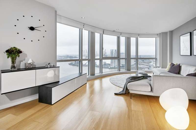 2 Bedrooms Flat for sale in Ontario Tower, Canary Wharf, E14