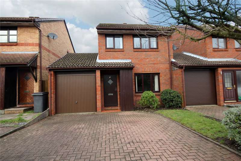 3 Bedrooms Link Detached House for sale in Tucker Road, Ottershaw, Surrey, KT16