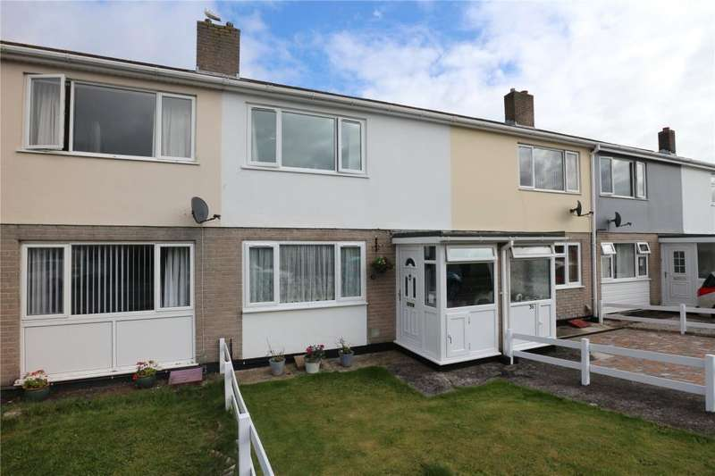 2 Bedrooms Terraced House for sale in Bosvean Gardens, Illogan, Cornwall