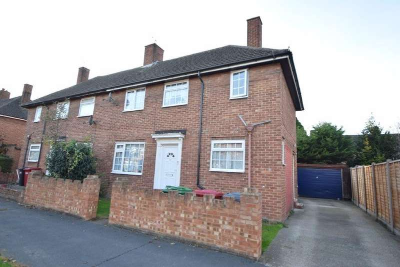 3 Bedrooms Semi Detached House for sale in Hawthorne Crescent, Slough, SL1