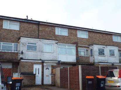 2 Bedrooms Maisonette Flat for sale in Kirton Way, Houghton Regis, Dunstable, Bedfordshire