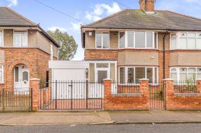 3 Bedrooms Semi Detached House for sale in The Headlands, Abington, Northampton, Northamptonshire