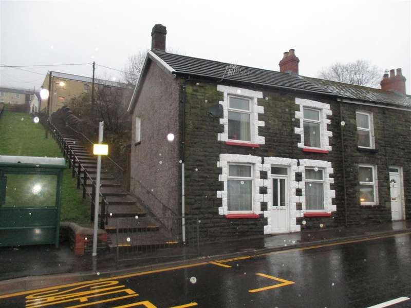 3 Bedrooms End Of Terrace House for sale in East Street, Tylorstown, Ferndale