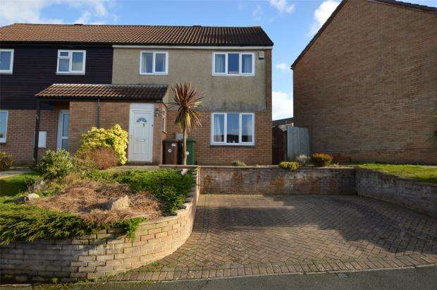 3 Bedrooms End Of Terrace House for sale in Westhays Close, Plymouth, Devon