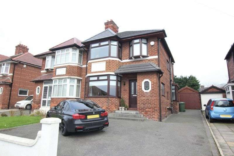 3 Bedrooms Semi Detached House for sale in Northwood Road, Prenton, Wirral