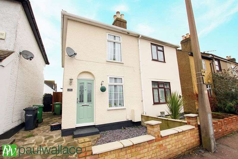 2 Bedrooms Semi Detached House for sale in Church Lane, West Cheshunt