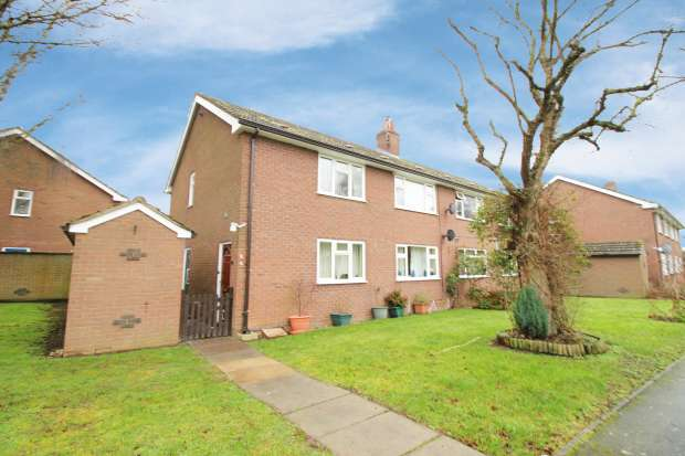 2 Bedrooms Apartment Flat for sale in Magnolia Close, Shrewsbury, Shropshire, SY4 3NS