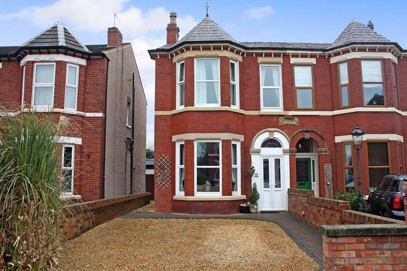 4 Bedrooms Semi Detached House for sale in Cavendish Road, Birkdale, Southport