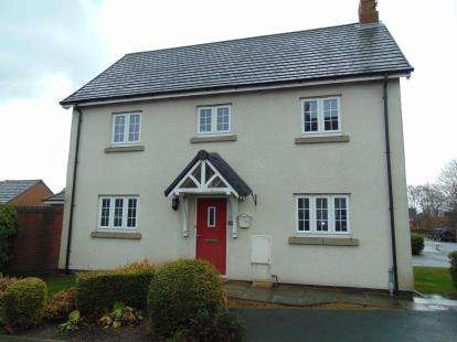 3 Bedrooms Detached House for sale in Liberty Close, Great Sankey, Warrington, Cheshire, WA5