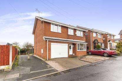4 Bedrooms Detached House for sale in Winterton Close, Westhoughton, Bolton, Greater Manchester, BL5