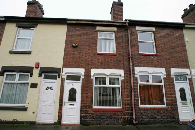 2 Bedrooms Terraced House for sale in Nicholls Street, Stoke on Trent