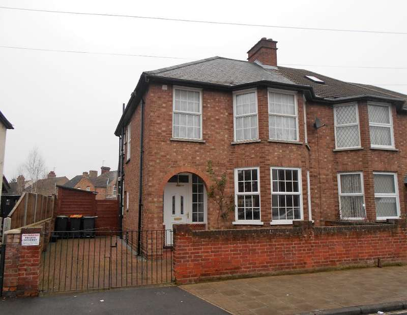 4 Bedrooms Semi Detached House for sale in Honey Hill Road, Bedford, Bedfordshire, MK40 4NZ