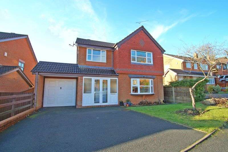 4 Bedrooms Detached House for sale in Fairbourne Gardens, Headless Cross. Redditch