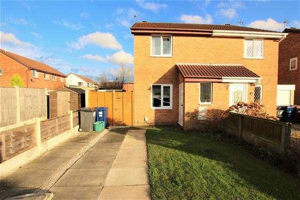 2 Bedrooms Semi Detached House for sale in Longbrook Avenue, Bamber Bridge, Preston