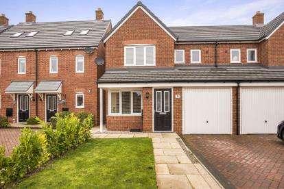 3 Bedrooms Semi Detached House for sale in Bamburgh Drive, Buckshaw Village, Chorley, Lancashire, PR7
