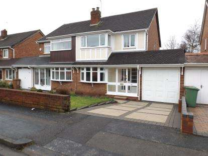 3 Bedrooms Semi Detached House for sale in Buckingham Drive, Willenhall, West Midlands