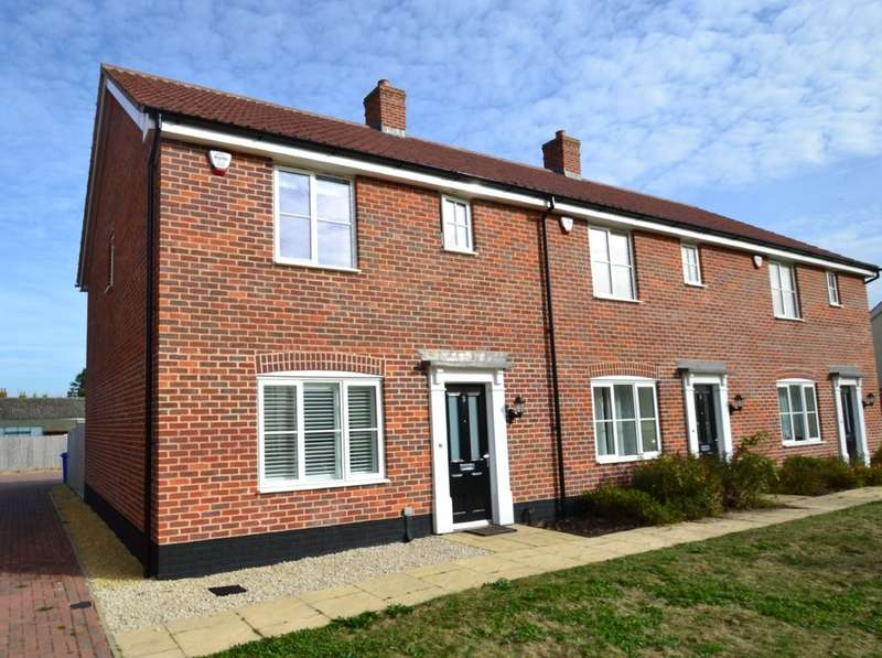 3 Bedrooms End Of Terrace House for sale in Watsons Way, Barrow, Bury St Edmunds