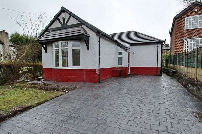 2 Bedrooms Detached Bungalow for sale in Woodhill Drive, Prestwich, Manchester