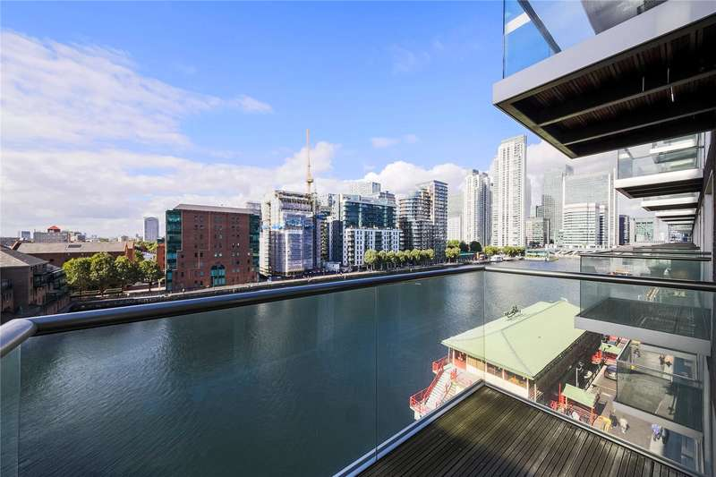 2 Bedrooms Flat for sale in Oakland Quay, London, E14