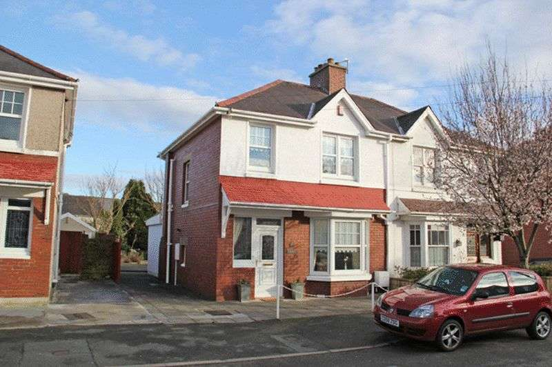 3 Bedrooms Semi Detached House for sale in MYRDDIN CRESCENT, CARMARTHEN