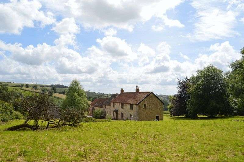 4 Bedrooms Semi Detached House for sale in Northwick, Dundry, Near Bristol.