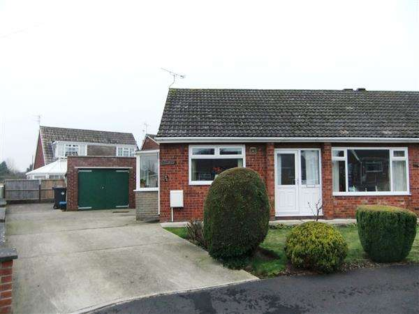 3 Bedrooms Semi Detached Bungalow for sale in Stuart Close, Scunthorpe