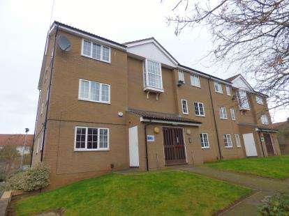 2 Bedrooms Flat for sale in Chepstow Close, St James, Northampton, Northamptonshire