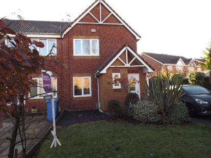 3 Bedrooms Semi Detached House for sale in Alt Side Court, Fazakerley, Liverpool, Merseyside, L10