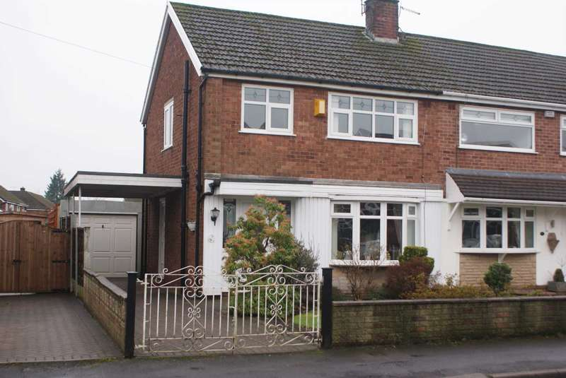 3 Bedrooms Semi Detached House for sale in Brook Gardens, Harwood