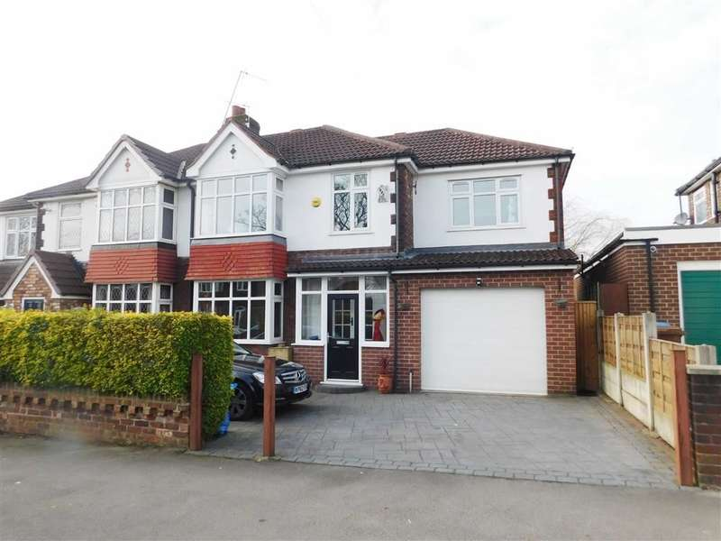 5 Bedrooms Property for sale in Central Drive, Romiley, Stockport