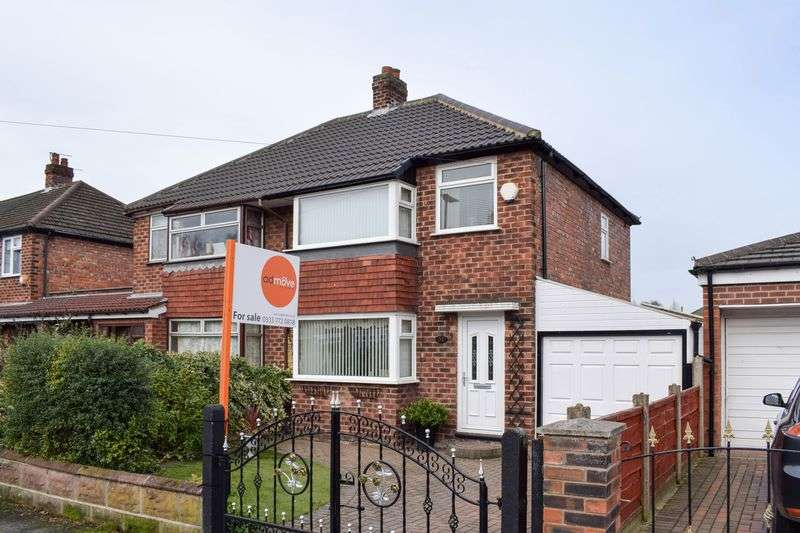 2 Bedrooms Semi Detached House for sale in Albany Road, Lymm