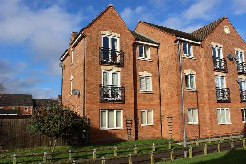 1 Bedroom Flat for sale in Middle Meadow, Tipton