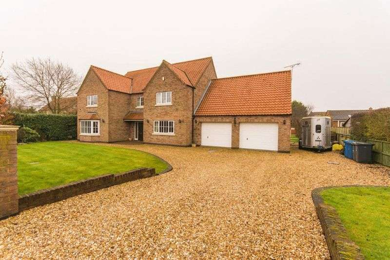 5 Bedrooms Detached House for sale in Wilmore Lane, Grasby, DN38