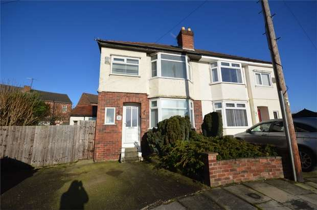 3 Bedrooms Semi Detached House for sale in Rydal Bank, Bebington, Merseyside