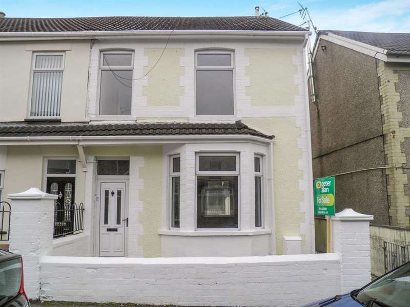 3 Bedrooms Semi Detached House for sale in The Avenue, Tonyrefail, Porth