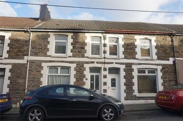 3 Bedrooms Terraced House for sale in Gilfach Street, Bargoed, Caerphilly