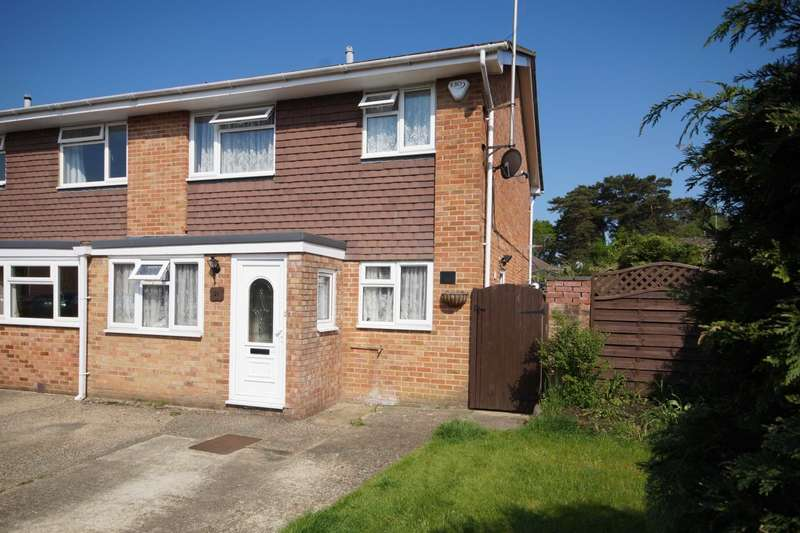 3 Bedrooms End Of Terrace House for sale in Willow Close, Bordon, Hampshire, GU35